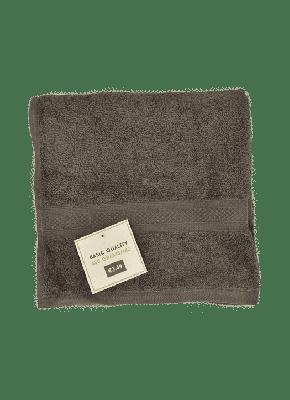 wibrazakelijk.nl Handdoek Antraciet 50x100cm - 450 gram