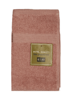 Gastendoek Roze 30x50cm - 550 gram