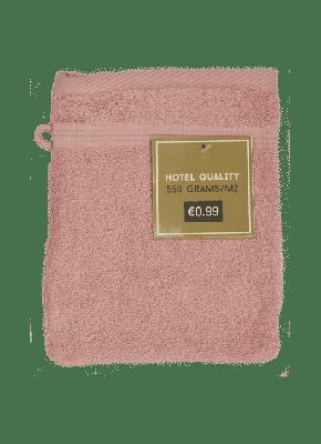 Washandje Roze 16x21cm - 550 gram